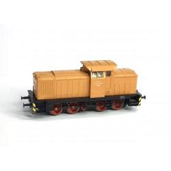 Diesellok BR 106 DR Lok 1 Dienststelle Walddrehna V60