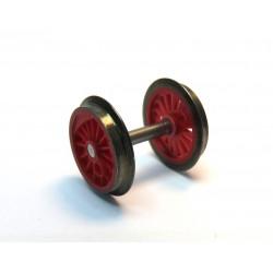 Kuppelradsatz rot BR 52 Dampflok