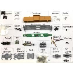 Bausatz Diesellokomotive V100 BR 110 komplett orange DR