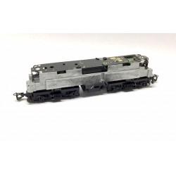 Fahrwerk BR 143 243 E-Lok schwarz Glockenankermotor