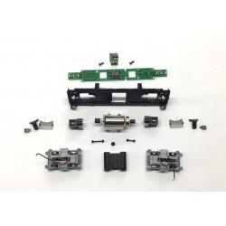 Bausatz Fahrwerk BR 110 Diesellok schwarz/grau...