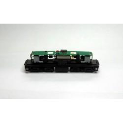 Fahrwerk BR 110 Diesellok schwarz Glockenankermotor