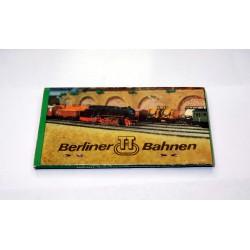 Streichholzschachtel Berliner TT Bahnen Werbung DDR