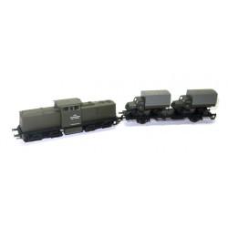 Diesellok BR 110 DR Lok 3 NVA Set 2