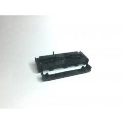 Rahmen und Bodenplatte T334 Diesellok schwarz