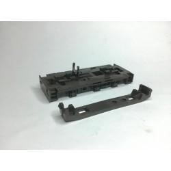 Rahmen und Bodenplatte T334 Diesellok braun