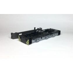 Rahmen + Bodenplatte T334 Diesellok 2 bedruckt sw grau