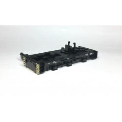 Rahmen und Bodenplatte T334 Diesellok bedruckt schwarz